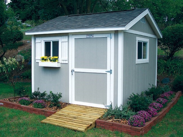 backyard storage sheds outdoor storage sheds: the perfect solution to little storage WWVVJQZ