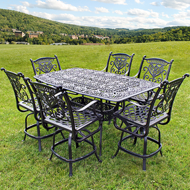 bar height patio set grand tuscany bar height by hanamint QWESNDL