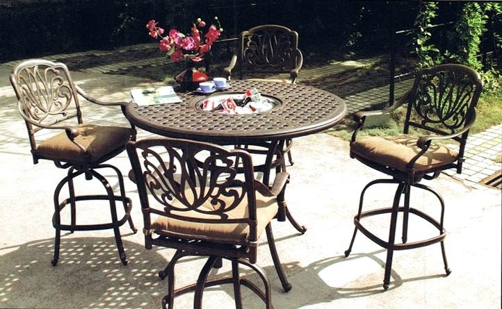 bar height patio set outdoor bar height table and chairs bar height patio table and chairs BEITZEG