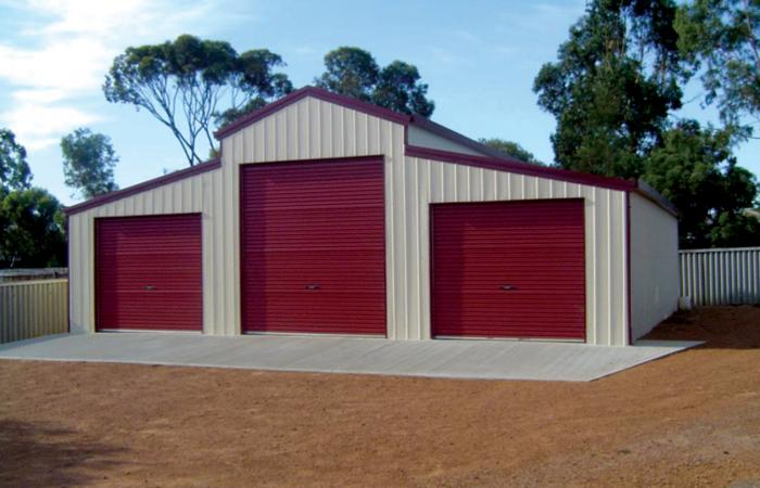 barn sheds heritage barn cream with manor red ... BANWHYJ
