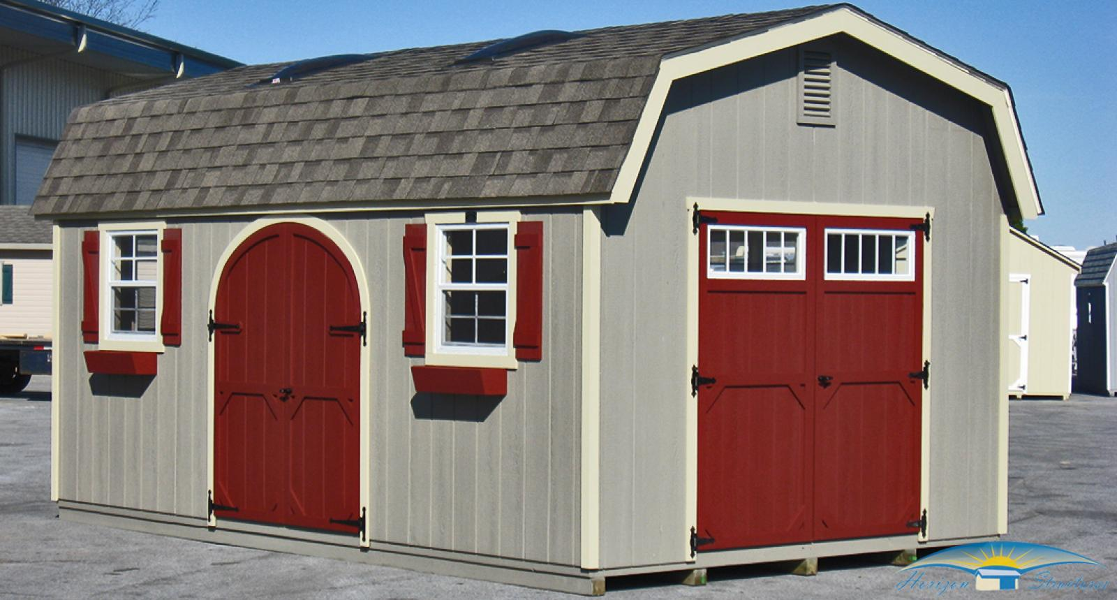 barn sheds if you want maximum overhead storage, the  CYNVCCG