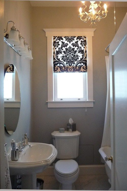 bathroom window treatments whenever iu0027m working on a design project that involves a bathroom, one YECEGLJ