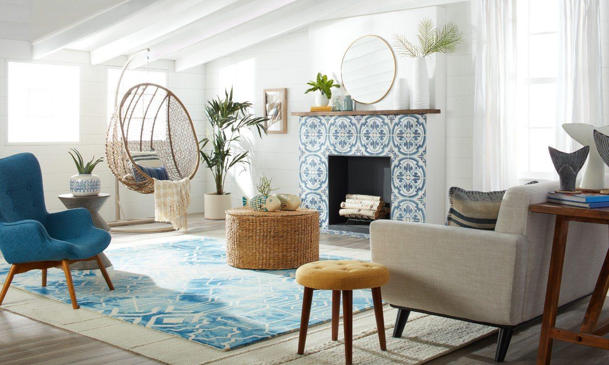 beach house decor beach house living room IJUFOGU