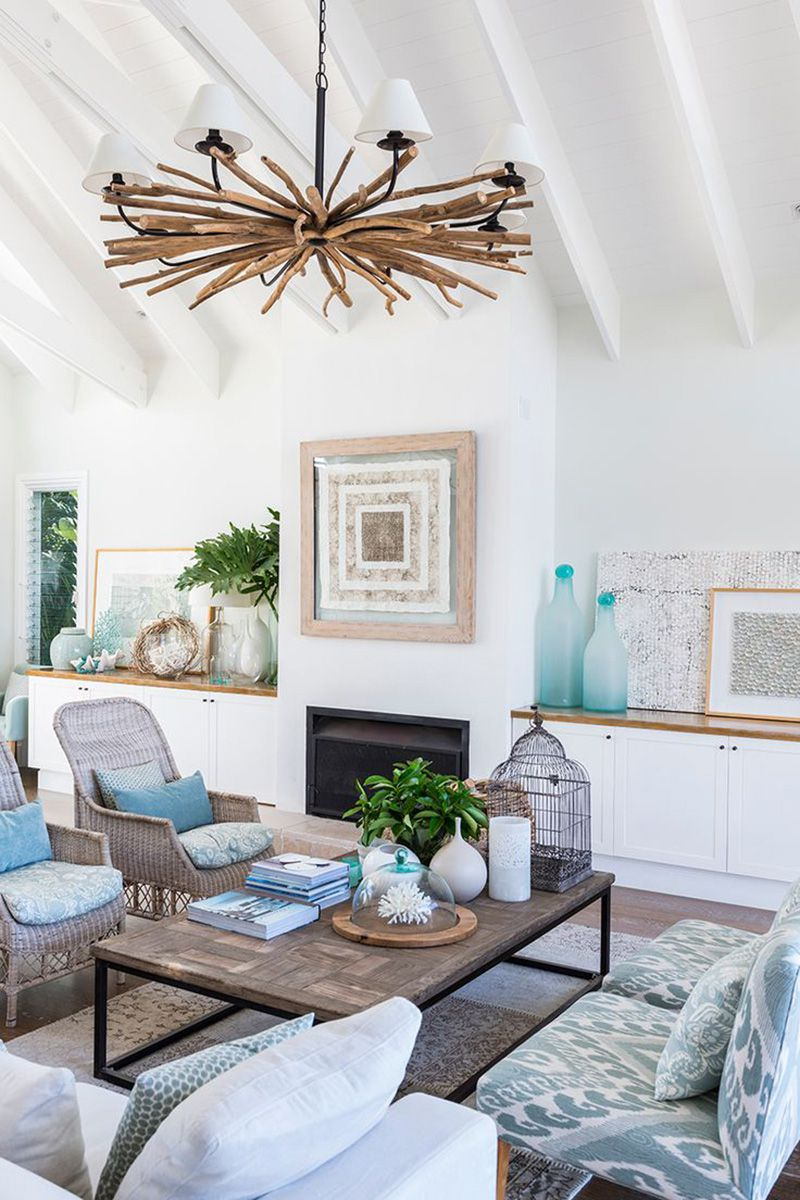 beach house decor ideas - interior design ideas for beach home NLNHPJZ