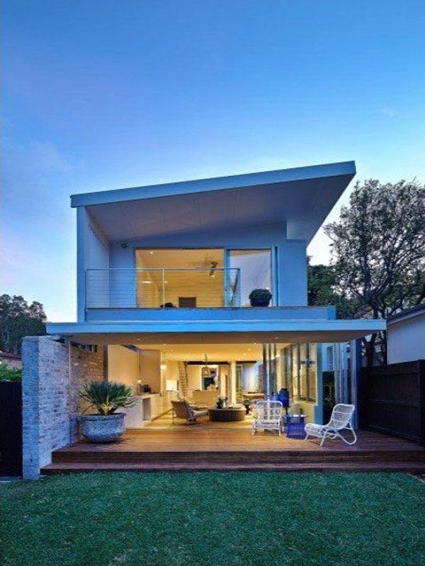 beach house designs beach-inspired vibes delivered by modern home in bondi, sydney JFBRNWW