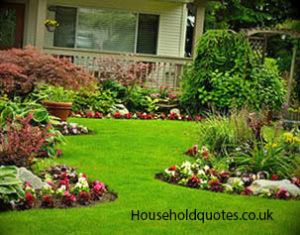 beautifully landscape garden NKBXFAY