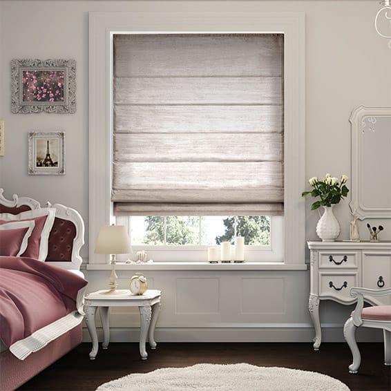 bedroom blinds dupioni faux silk mink roman blind LFHGGJJ