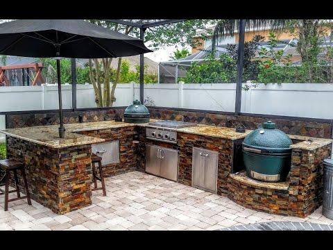 best outdoor kitchen design ideas REVEGUD