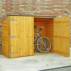 bike storage shed 6u0027 x 2u00276 shire wooden bike shed u0026 garden storage FWXRENK