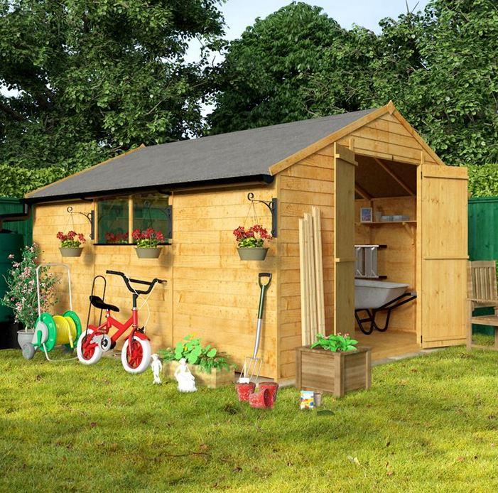 billyoh 30 12 x 10 large shed WCTDUHT