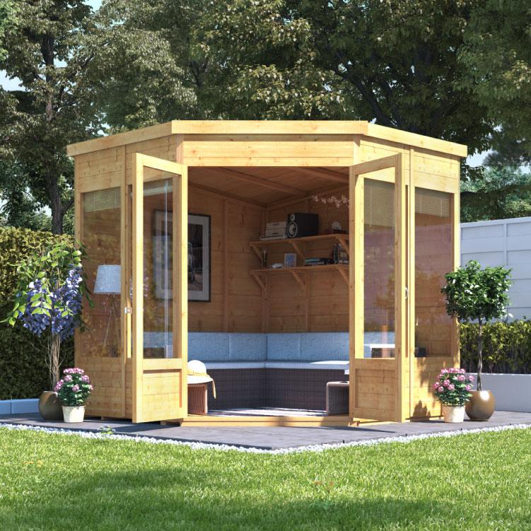 billyoh picton corner summerhouse - summer houses - garden buildings direct QIJZHXS