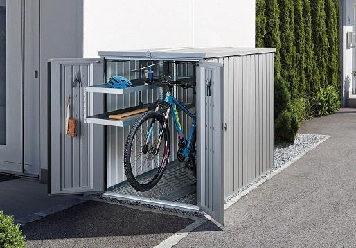 biohort mini garage bike storage shed 4u0027 x 7 quality JGIGYUO