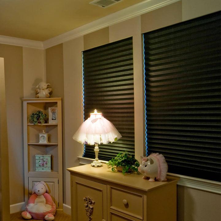 blackout blinds blackout pleated shades YKCYOXA