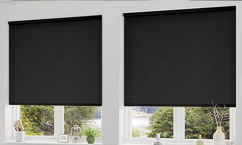 blackout roman blinds choosing the best type of blinds. the virtues of blackout roller ... ZUADVJV