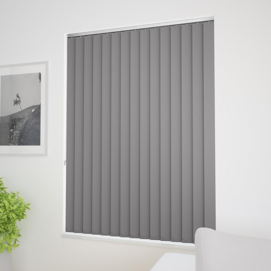 blackout vertical blinds bermuda blackout grey vertical blind blinds by post FUVQXBT