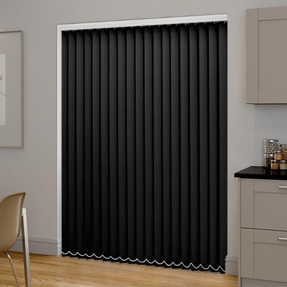 blackout vertical blinds black pvc blackout vertical blind NJYJKHB
