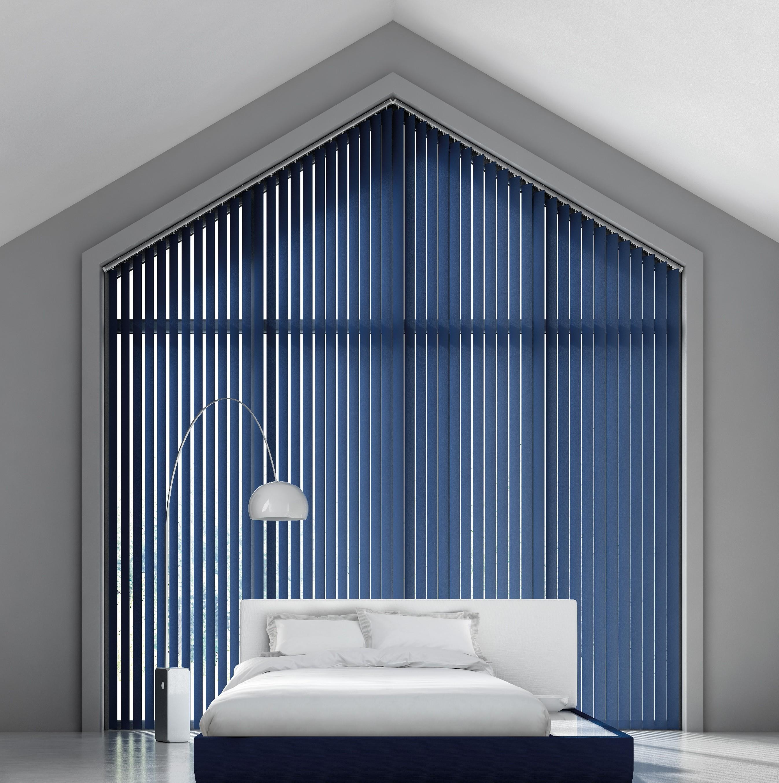 blackout vertical blinds decora 89mm fabric box blackout vertical blind QDXMPJI