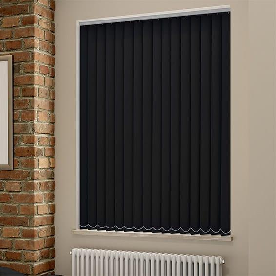 blackout vertical blinds sevilla tranquility black vertical blind DVPWKNW