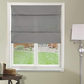 blind curtain chicology cordless magnetic roman shades/window blind fabric curtain drape,  light filtering, NFNNHIT