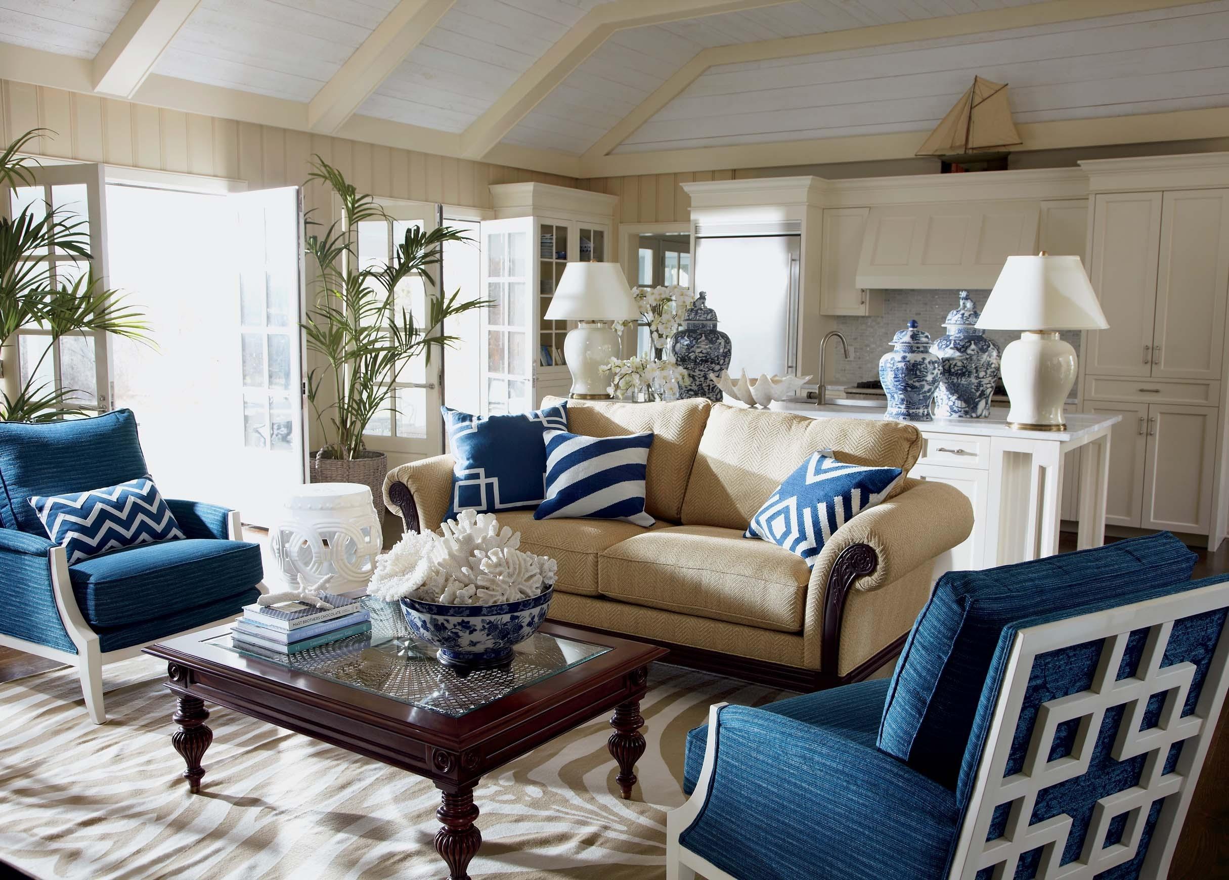blue sunroom furniture VQVMYKD