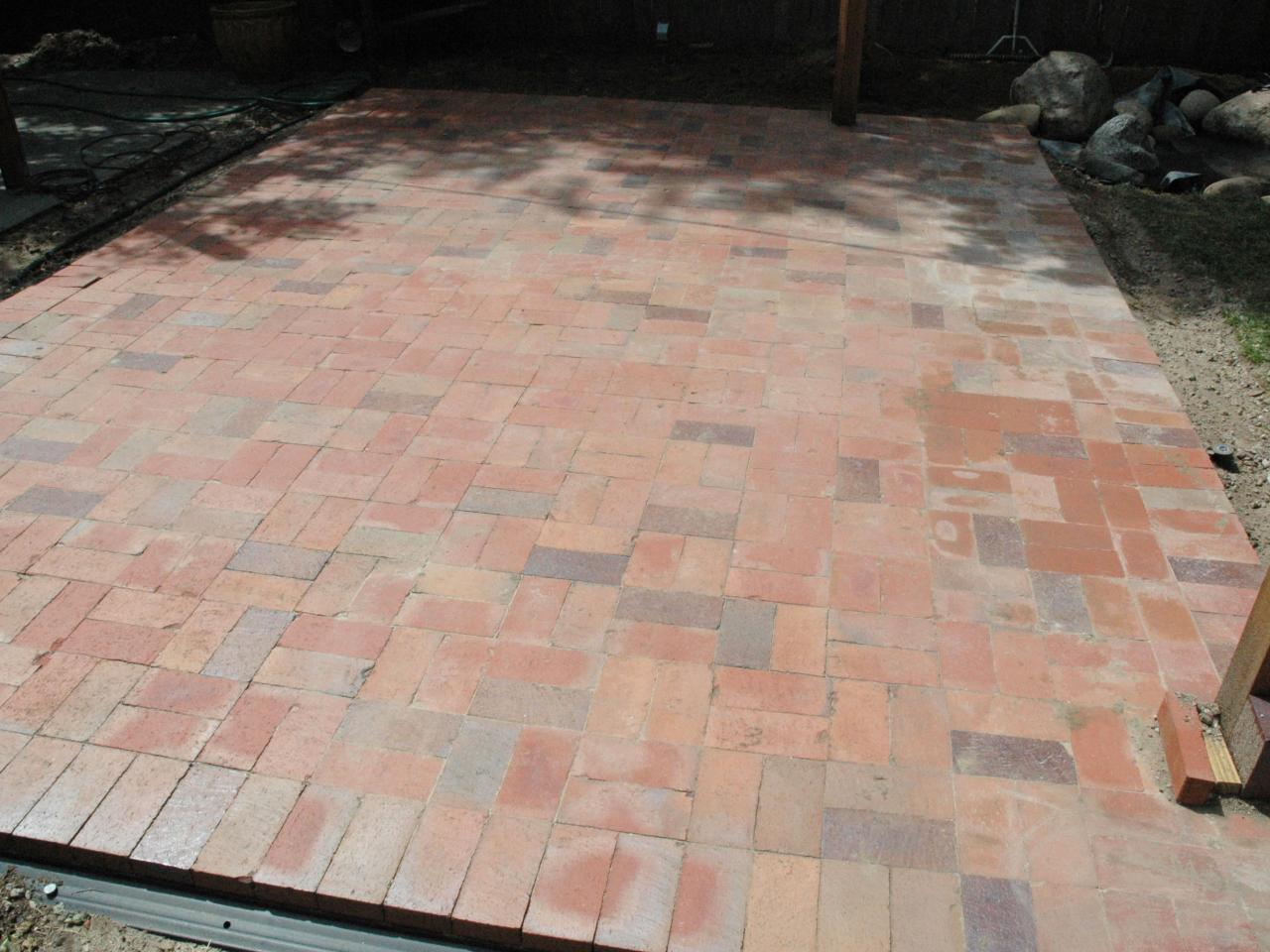 brick patio step 5 TKBNDYH
