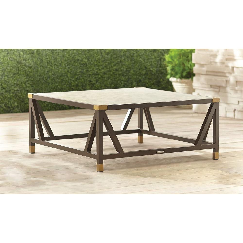 brown jordan patio furniture brown jordan form patio chat table -- stock EOPLCCY