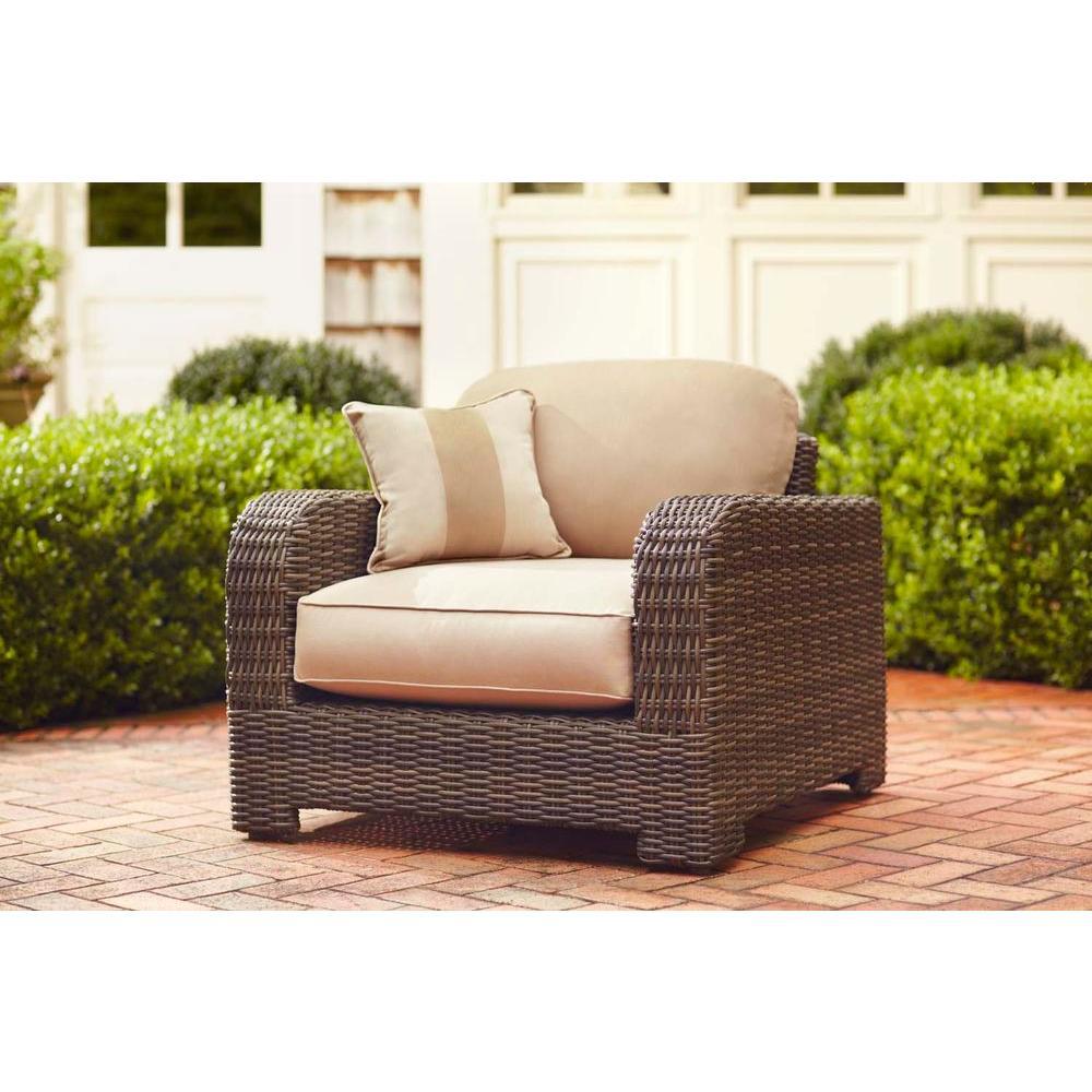 brown jordan patio furniture brown jordan northshore patio lounge chair with harvest cushions and  regency RXRVIHW