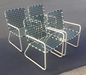 brown jordan patio furniture image is loading vintage-brown-jordan-patio-dining-chair-set-of- EWJCFOB