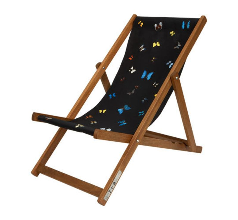 butterfly deck chairs by damien hirst | apartment therapy IAVMLQE