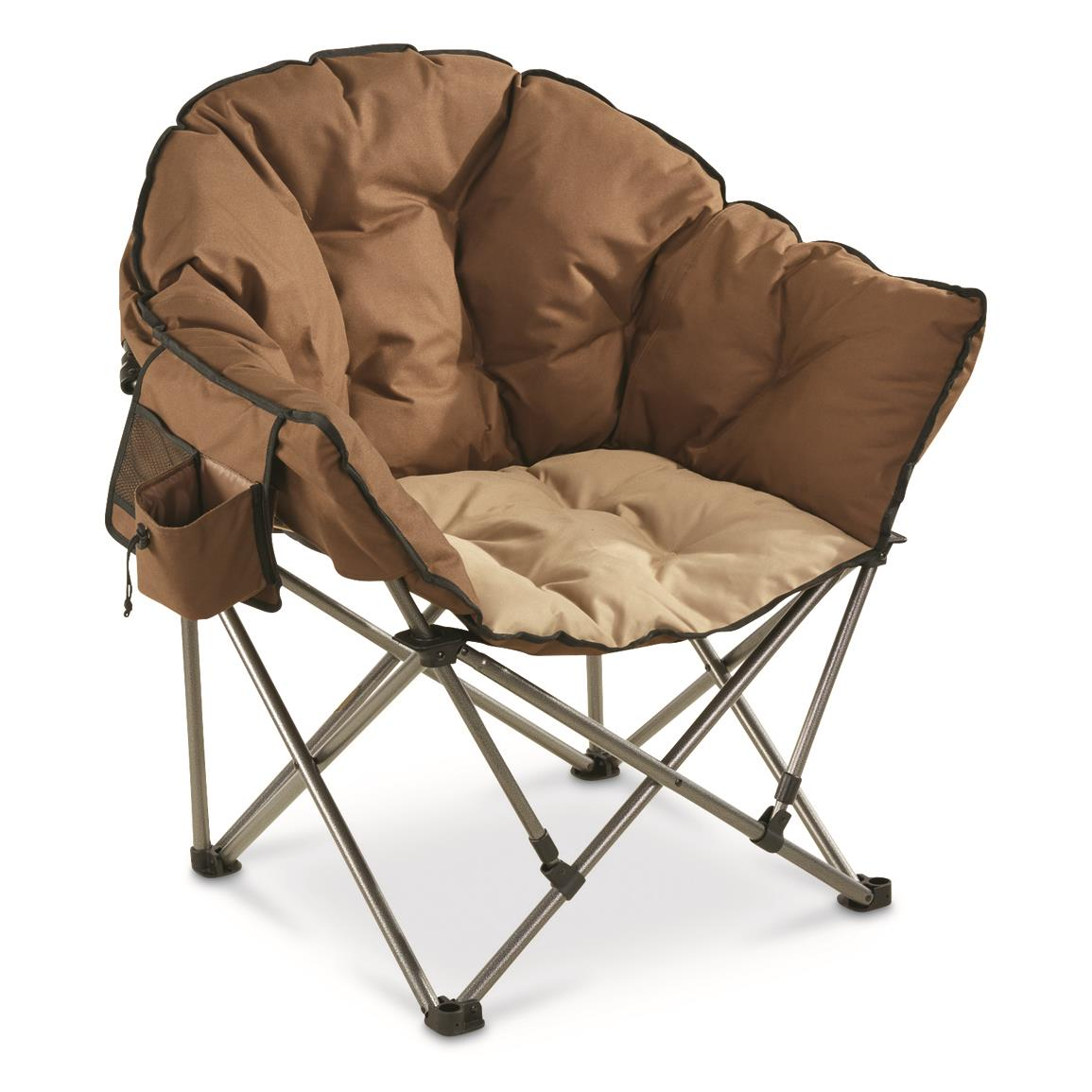 camp chairs shown in tan/brown, tan/brown ZMSXJPE