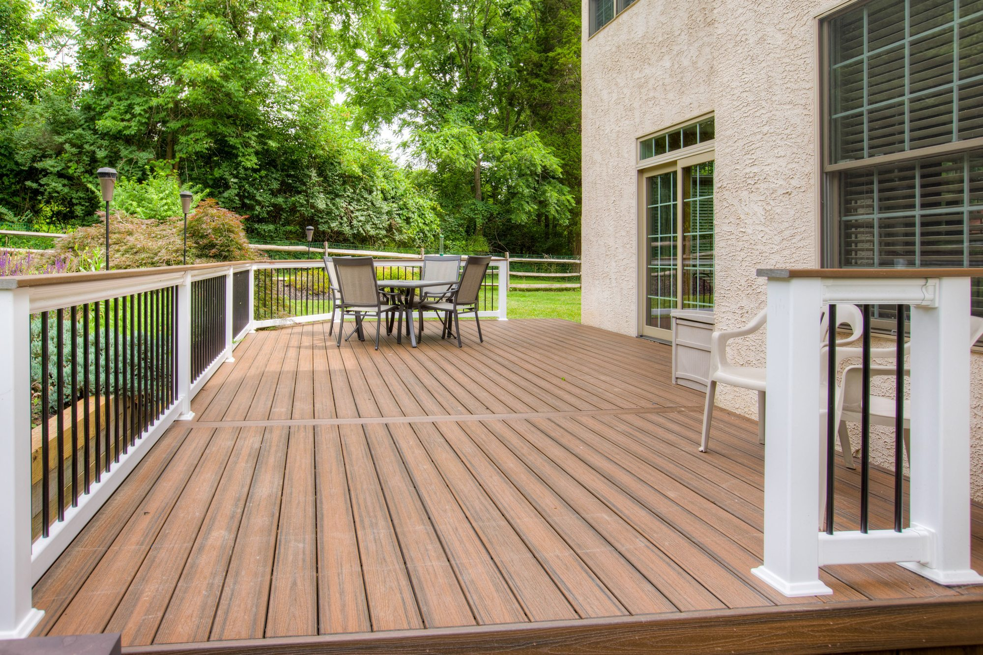 capped composite deck project in wayne, pa NHEFYDC