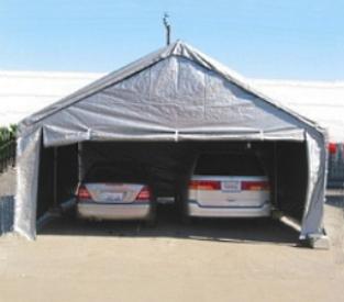 carport canopy grey 20u0027 x 20u0027 heavy duty outdoor canopy carport SRTGZQC