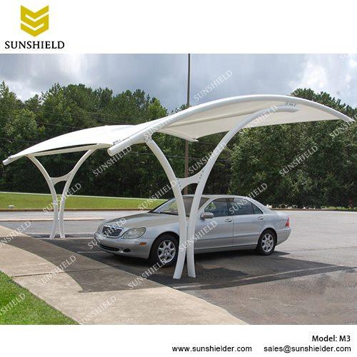 carport canopy sunshield m3 metal car ports - portable membrane carport for sale -2 GSXRWOU