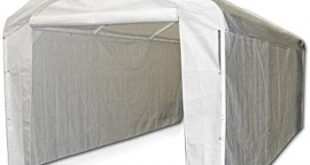 carport tent caravan canopy side wall kit for domain carport, white LLAESYV