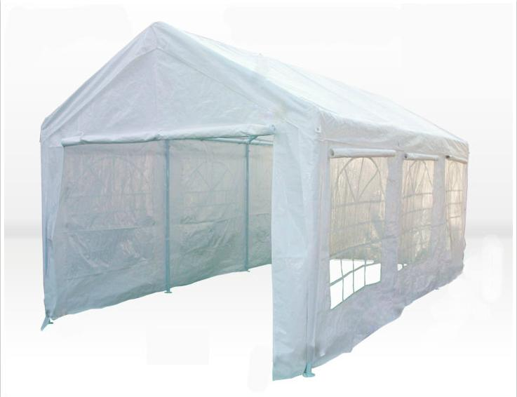 carport tent mcombo white 20x26u0027 heavy duty carport party tent canopy WXSUNRZ