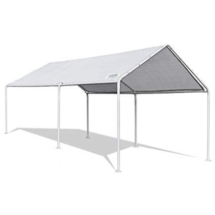 carport tent quictent 20u0027x10u0027 upgraded heavy duty carport car canopy party tent ... RUFXVYX