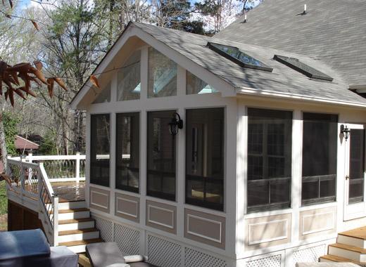 cary custom screen porch builder LKJJXIG