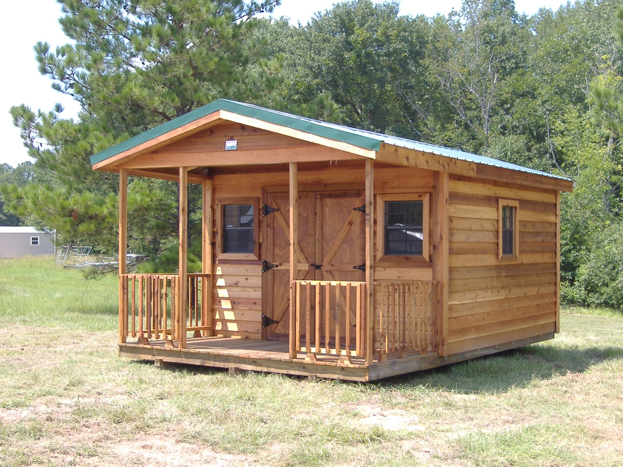 cedar sheds ... and a certain number of windows and electrical outlets depending on PUXEOME