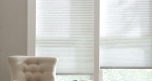 cellular shades home decorators collection snow drift 9/16 in. cordless light filtering cellular JLXVZZK