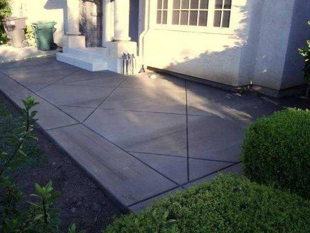 cement patio step 1 YHQSUZI