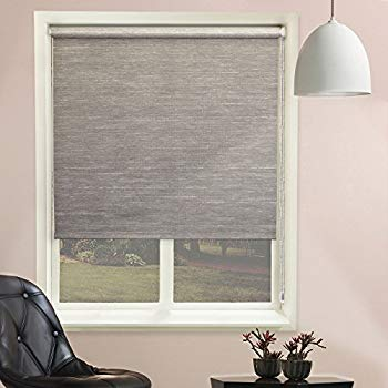 chicology continuous loop beaded chain roller shades / window blind curtain STWTIRX
