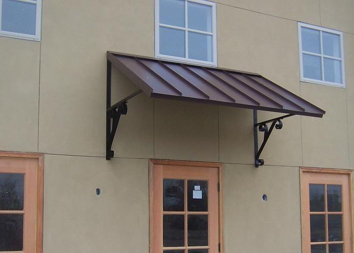 classic metal awning - - custom metal awnings - copper awning - DLQAEBV