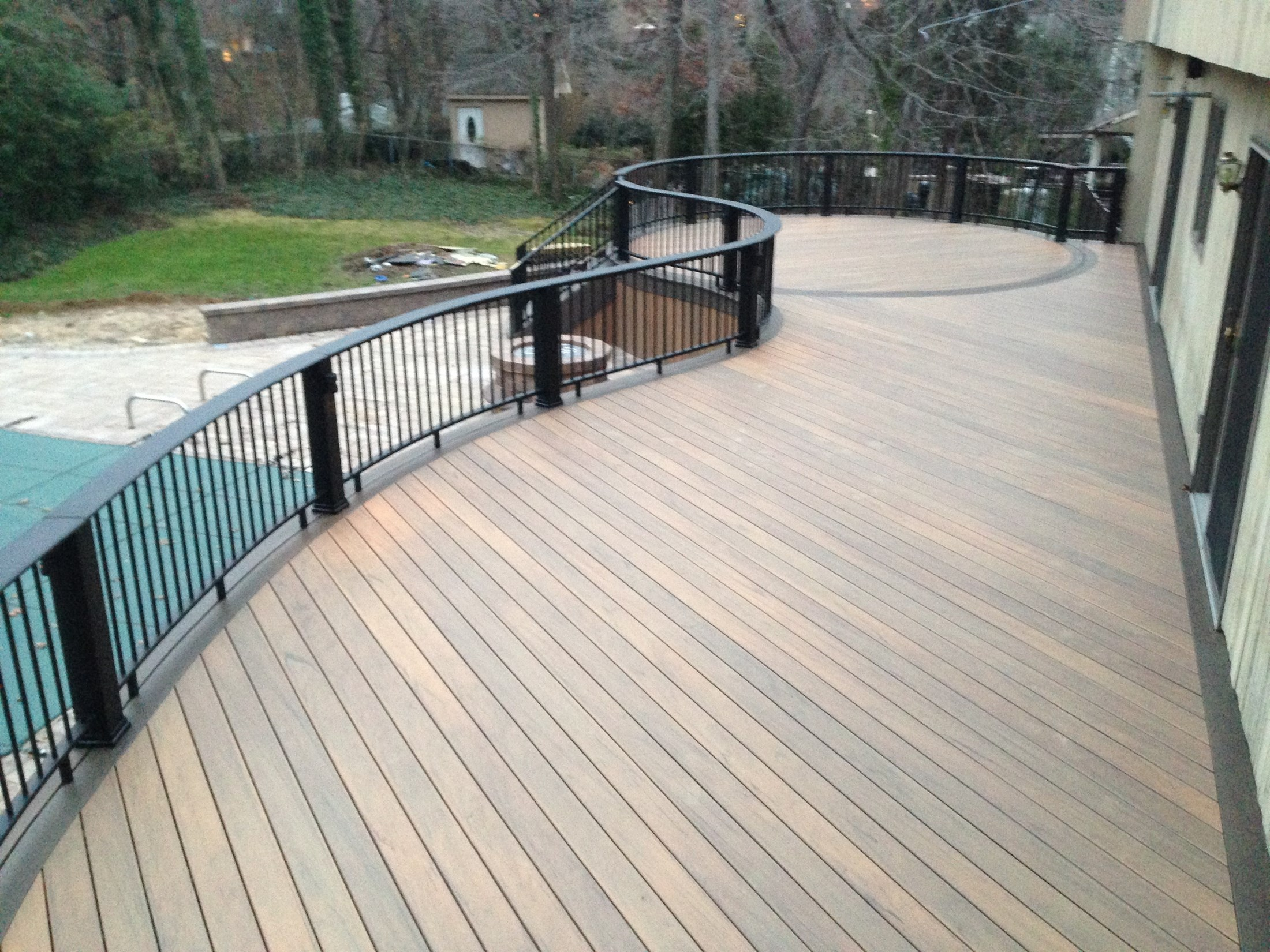 composite deck composite decking material review QMPCDVF