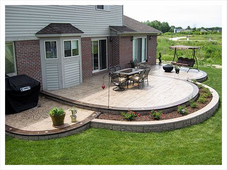 concrete patio ideas amazing of concrete patio designs backyard design suggestion 1000 ideas  about DWAUPYD