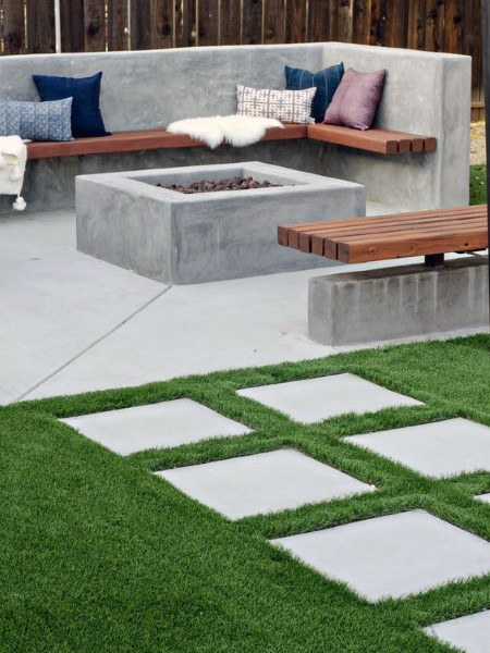 concrete patio ideas STGVJNB