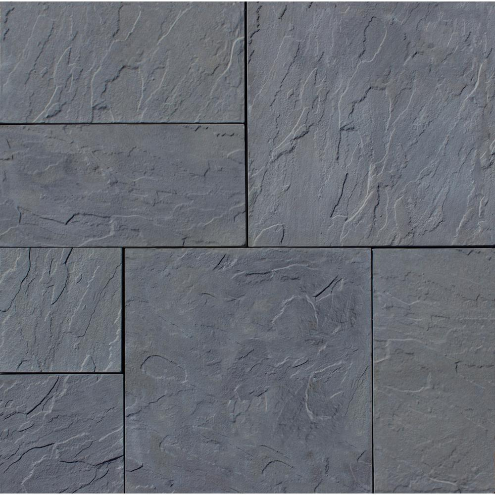 concrete pavers nantucket pavers patio-on-a-pallet 126 in. x 126 in. OEDPYYG