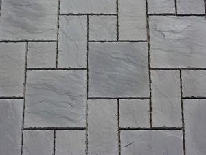 concrete paving image is loading charcoal-grey-concrete-patio-paving-slabs-flags-york- UVTDLHU