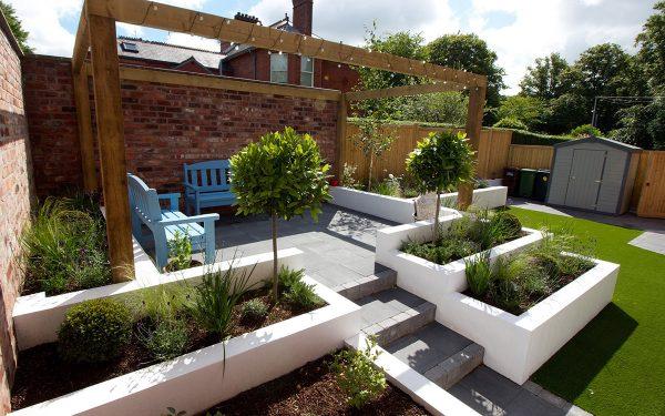 contemporary gardens contemporary garden lisburn PRFNHWT