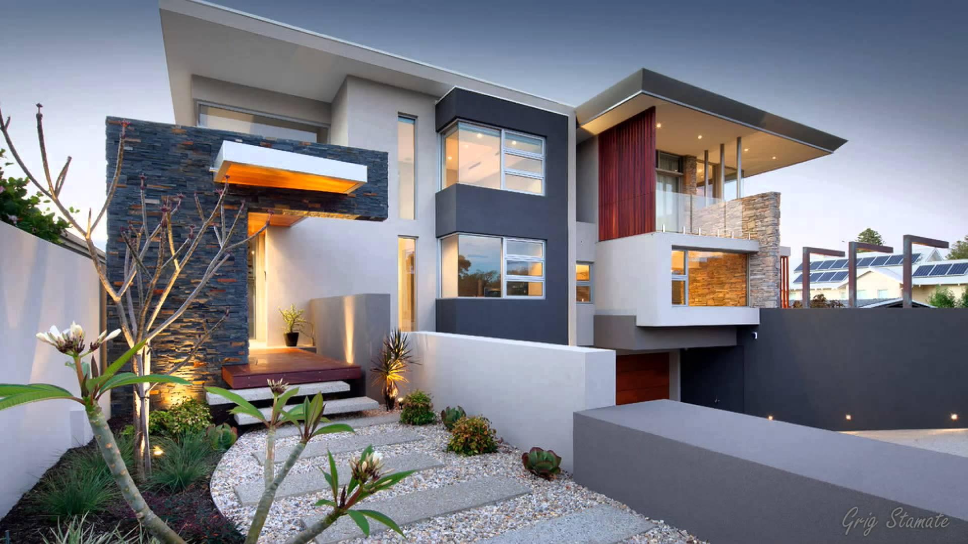 contemporary house design stunning ultra modern house designs - youtube SWFEFUI