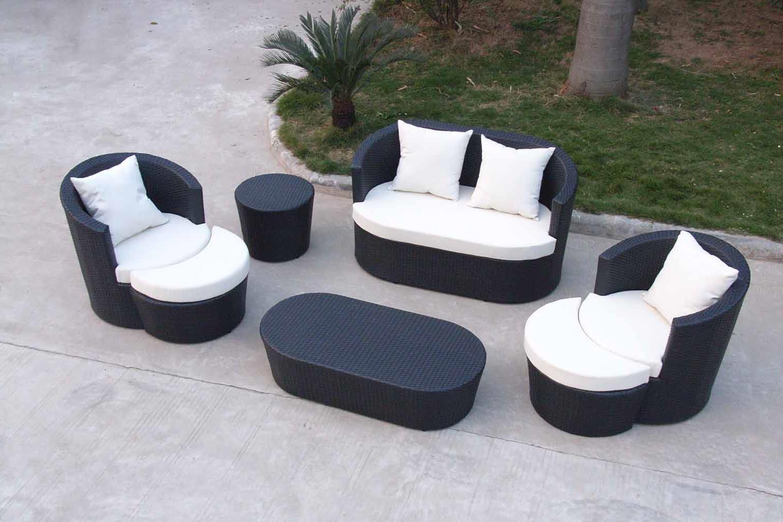 contemporary modern patio furniture LJCFLZP